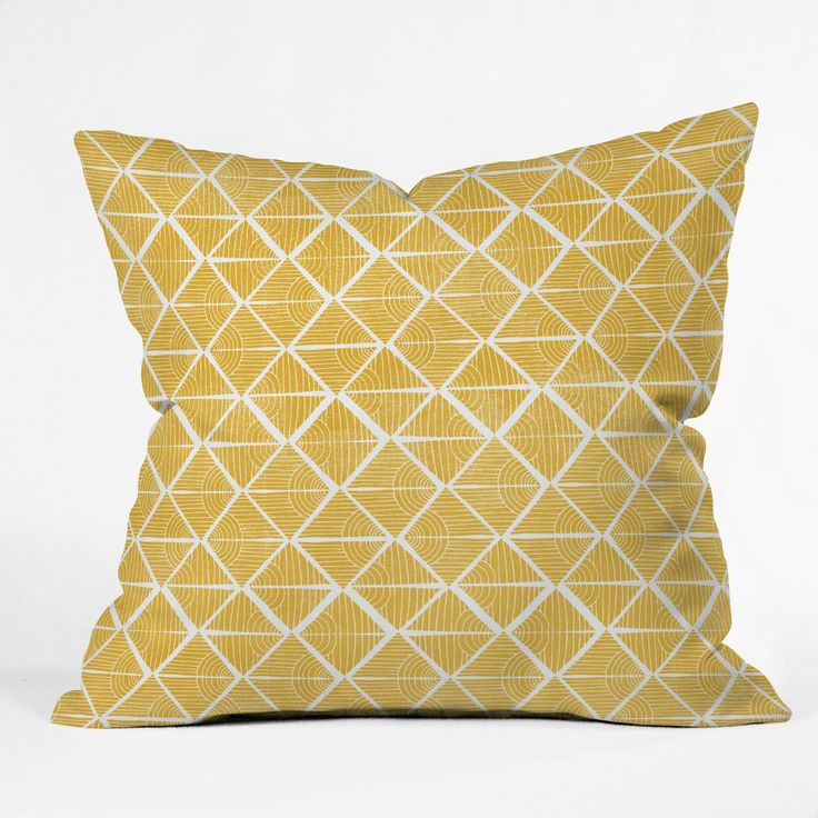Loni Harris Cooking Time Throw Pillow | DENY Designs Home Accessories
