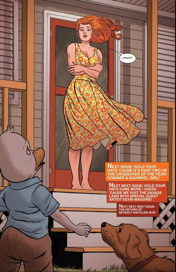 An interview with comics writer and artist Chip Zdarsky about his work on Howard the Duck (the comic) and his thoughts on Howard the Duck (the movie).