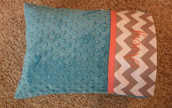 Minky Travel Pillows - Toddler Pillow - Personalized Travel Pillow - Baby Pillow - Adult Travel Pillow - Travel Pillow - Nursery Pillow by LizzysBiz on Etsy