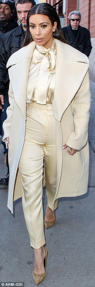 Saint Laurent Paris Pointed Suede Pumps & Celine Fall 2013 Coat