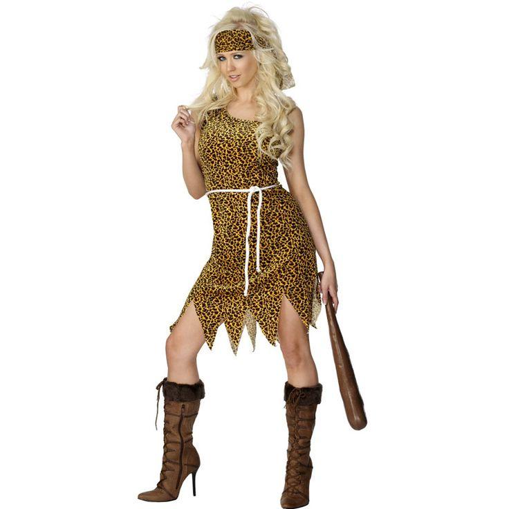 Déguisement Femme des Cavernes Bon Marché #déguisementsadultes #costumespouradultes #nouveauté2015