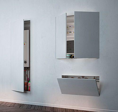 les 25 meilleures id es de la cat gorie cacher le chauffe eau sur pinterest petites cuisines. Black Bedroom Furniture Sets. Home Design Ideas