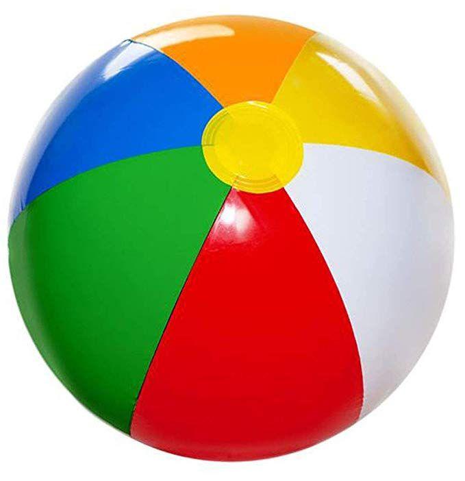 4e S Novelty Inflatable Beach Balls Pack Of 12 Bulk Large 20 Inch
