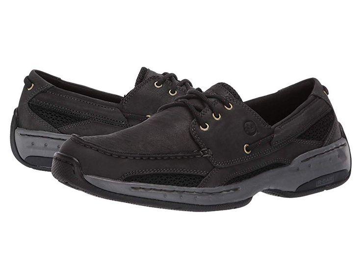 Dunham Captain Men S Slip On Shoes Black In 2019 Mens