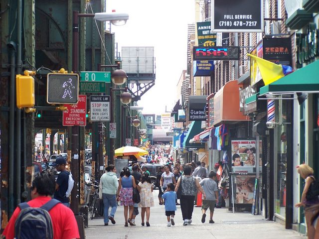 NYC's Micro Neighborhoods: Little India in Jackson Heights, Queens... With its abundance in Indian restaurants and numerous mom and pop shops, Jackson Heights stands out as New York City's Little India.