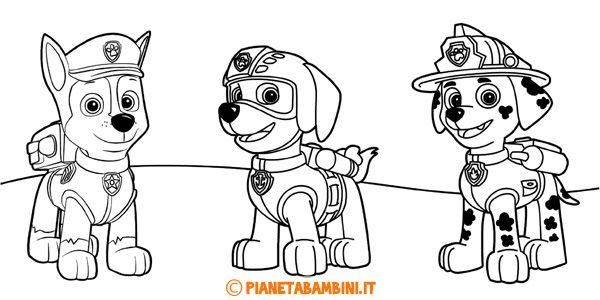 77 best disegni da colorare images on pinterest for Paw patrol disegni da colorare