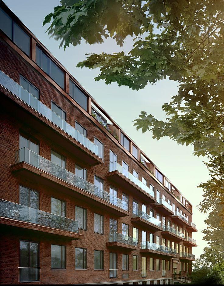 Oscar Properties :Ateljéhuset  #oscarproperties   design, architecture, facade