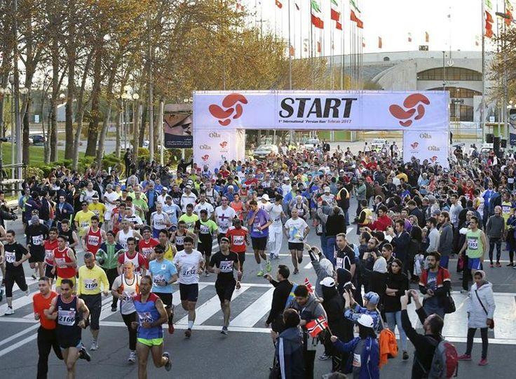 Les femmes autorisées à courir un marathon en Iran… mais à l'intérieur d'un stade