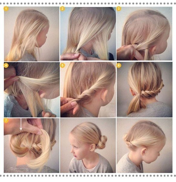 Children's haircuts for girls
