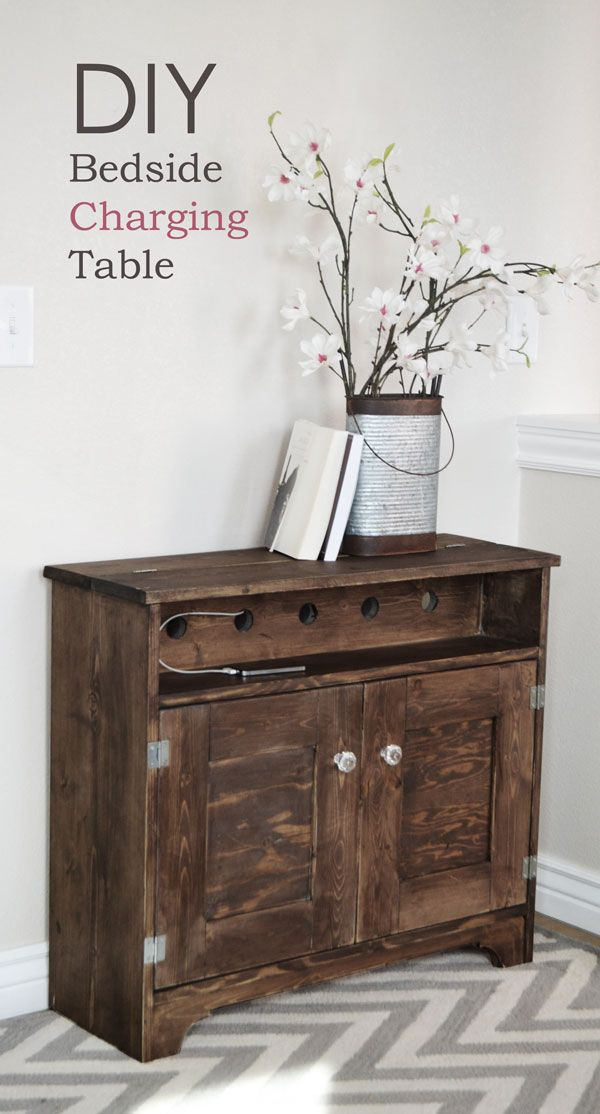 Free Woodworking Plans For Bedside Table Woodworking