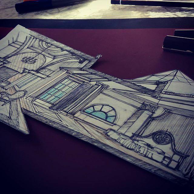 #ARCHITECTURE  #SKETCH #ARCHITECTURE_HUNTER