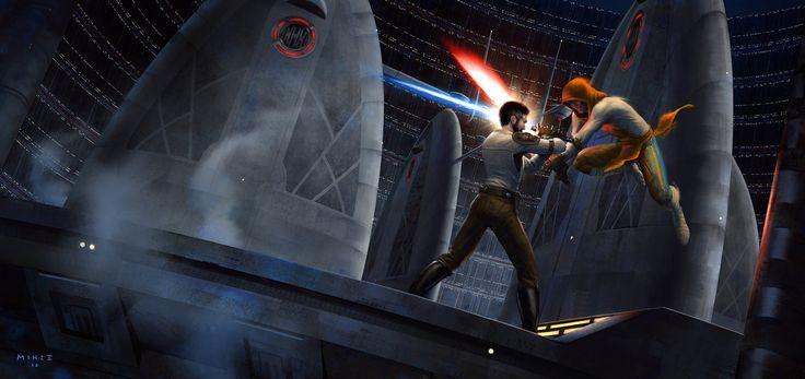 Star Wars Jedi Knight II: Jedi Outcast by ATArts.deviantart.com on @DeviantArt