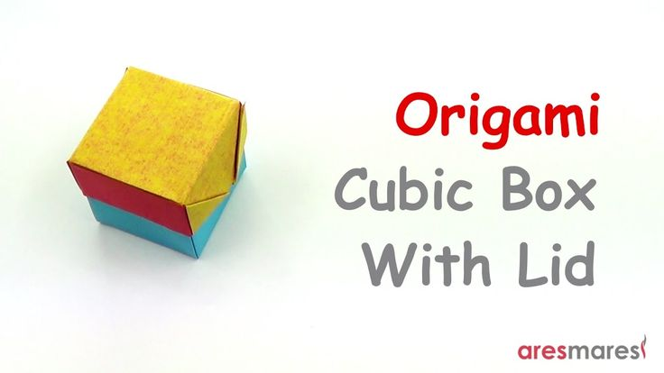 Origami Cubic Box with Lid (easy - modular) Perfect for any occasion!!! #origami #unitorigami #howtomake #handmade #colorful #origamiart #diy #doityourself #paper #papercraft #handcraft #paperfolding #paperfold #paperart #papiroflexia #origamifolding #instaorigami #interior #instapaper #craft #crafts #creative #hobby #оригами #折り紙 #ユニット折り紙 #ハンドメイド #カラフル #종이접기 #اوريغامي