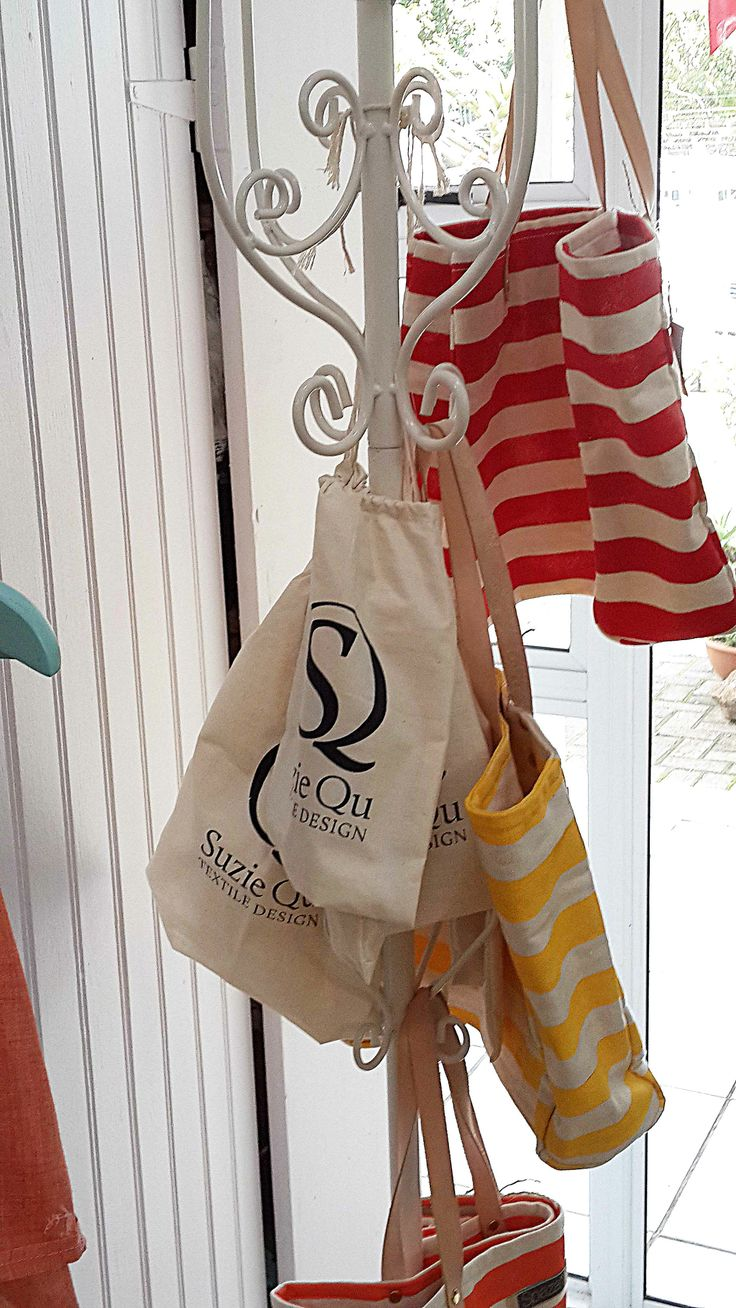 Suzie Qu sock bags which come complementary with most products.