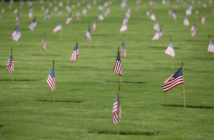 memorial day boston flags