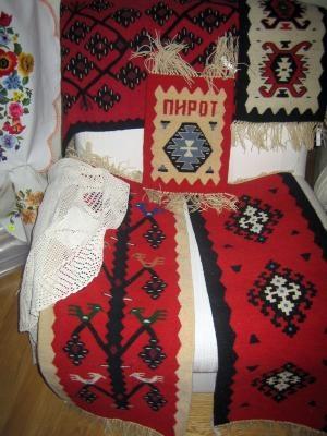 Europe - Serbia/Pirot, kilim carpets