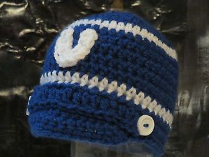 Crochet Hair Indianapolis : Crochet Indianapolis Colts Beanie Crafts--Crochet Pinterest ...