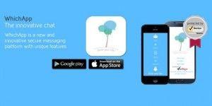"""WhichApp, l'app di messaggistica """"made in Italy"""", si aggiorna alla release 2.0"""