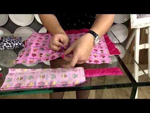 ▶ Aprenda a fazer um prático porta-livro! - YouTube