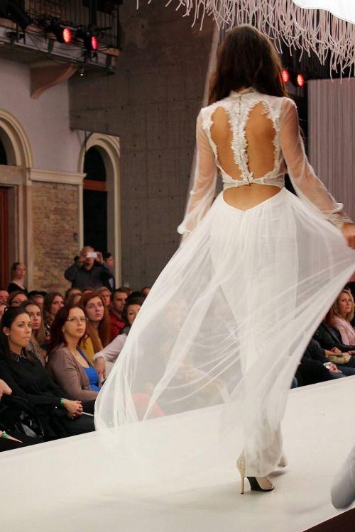 Nora Sarman Silk Tulle Dress