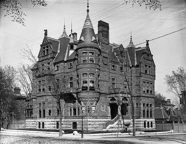 Hon. George Drummond's house, Sherbrooke Street, Montreal, QC, 1891 | Flickr - Photo Sharing!