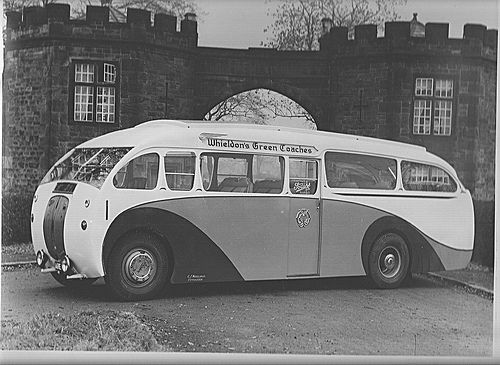 Bus   Wheildons Uttoxeter Foden Body 1934