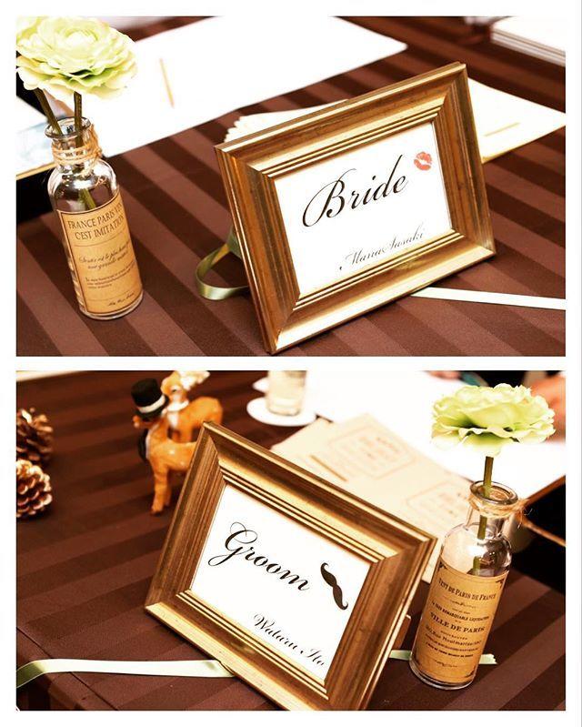 #weddingreport ✨ * 受付スペースの受付サイン←名前なんて言うんだろう? * プレ花嫁様ご用達の#フライングタイガー のフレームはほんとに優秀L版サイズよりも大きめなところも好きです * #フラワーペン と、100均のビンをdiyしたペン立てともマッチしてくれて嬉しい☺️ * しかしこのペン、見た目重視で作ったから書きづらかったろうなーみなさんごめんなさいw * #528組#プレ花嫁#プレ花嫁卒業#卒花#結婚式#2016春婚#ウエディングレポ#結婚式レポ#ウエディング#卒花嫁#まなレポ#花嫁diy#受付スペース#受付サイン#mw受付スペース
