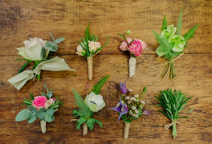 Some buttonhole inspiration for those who are getting married. We are an Essex based florist for all those Essex brides out there.