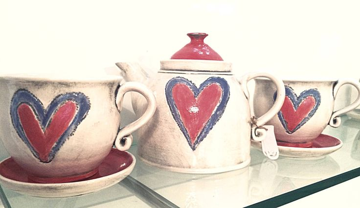 Ceramic set..made with love