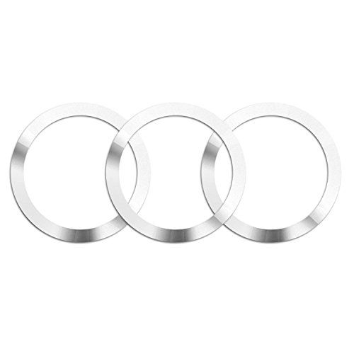 EooCoo Wireless charging accessories,Metal Ring for Qi Standard Mobile Cell Phone Air Vent Magnet Car Mount Holder Cradle and Charger[3pcs] #EooCoo #Wireless #charging #accessories,Metal #Ring #Standard #Mobile #Cell #Phone #Vent #Magnet #Mount #Holder #Cradle #Charger[pcs]