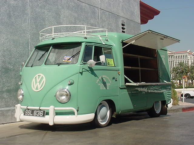Warehouses Garages, Food Trucks, Wareh Garages, Vw Bus, Vintage Warehouses, Ws, Vwbus, Vw Vans, Volkswagen