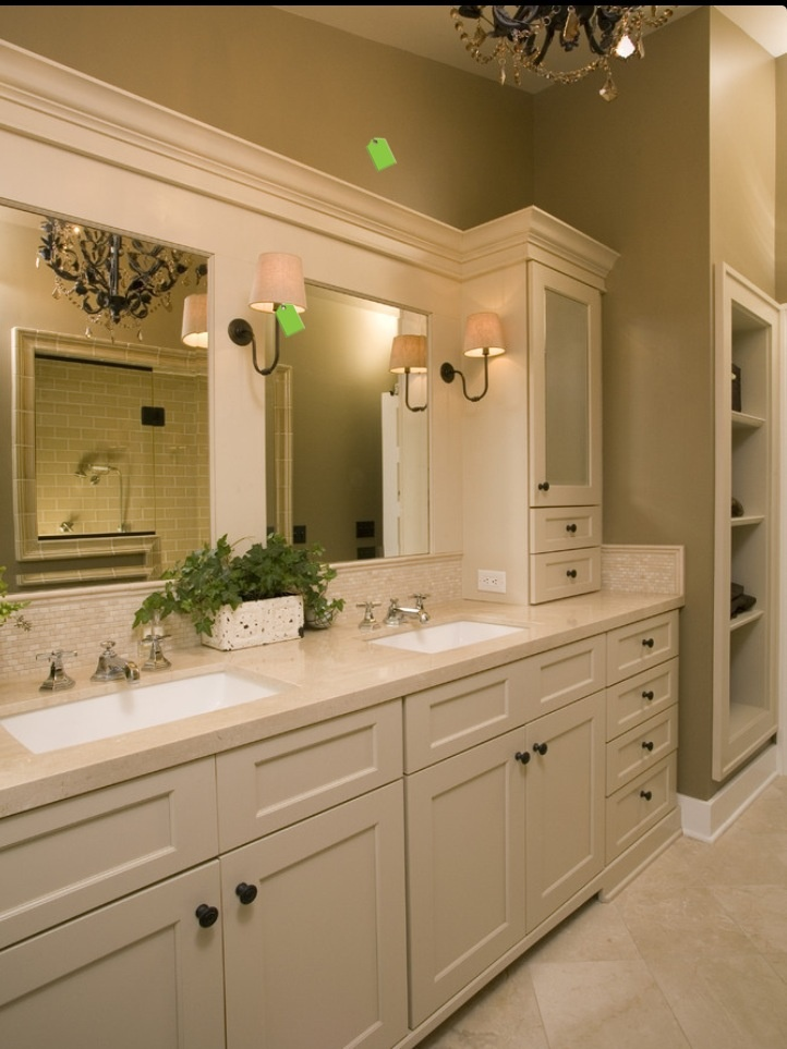 White cabinets with black mirror  silver hardware and silver fixtures Master  Bath Retreat   traditional   bathroom   seattle   Kayron Brewer  CKD   64 best master bath images on Pinterest   Bathroom ideas  Master  . Master Bathroom Design 2014. Home Design Ideas