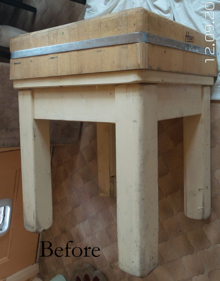 Butcher Block up cycled