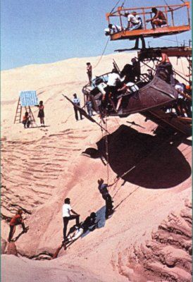 Behind the scenes on Star Wars Return of the Jedi: