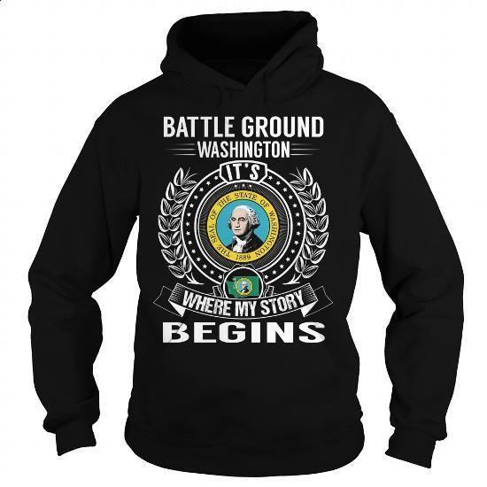 Battle Ground, Washington Its Where My Story Begins - #funny tee shirts #t shirts design. GET YOURS => https://www.sunfrog.com/States/Battle-Ground-Washington-Its-Where-My-Story-Begins-Black-Hoodie.html?60505