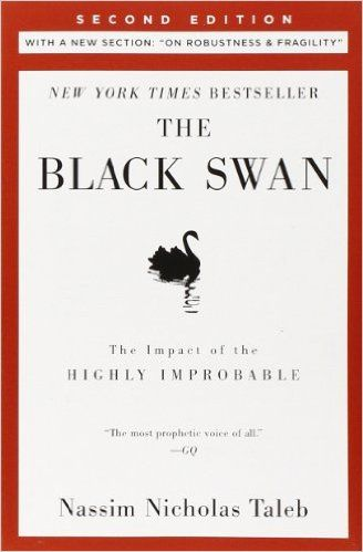 The Black Swan: Second Edition: The Impact of the Highly Improbable. A black swan is an event, positive or negative, that is deemed improbable yet causes massive consequences. In this groundbreaking and prophetic book, Taleb shows in a playful way that Black Swan events explain almost everything about our world, and yet we—especially the experts—are blind to them.