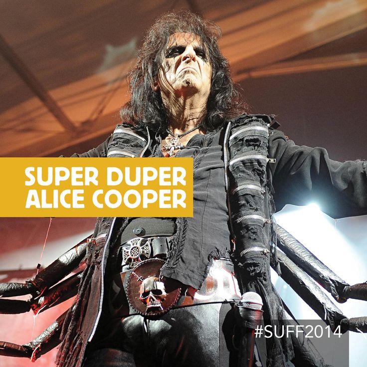 #SUFF2014 Super Duper Alice Cooper