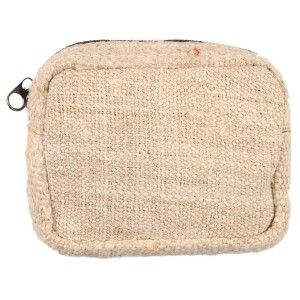 Hand Held Hemp Coin Purse