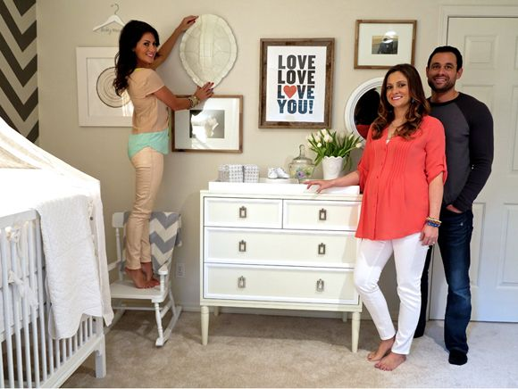 Jillian Harris designs Molly and Jason Mesnick's nursery