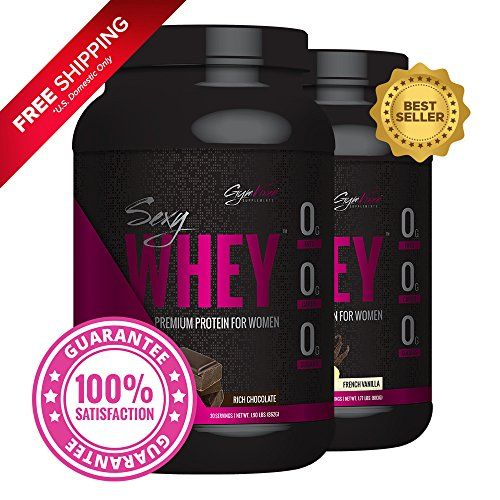 Gym Vixen Sexy Whey! (1 Chocolate & 1 Vanilla) 30 Serv Each  Best Whey Protein Isolate for Women  Great Tasting! Low Calorie Fat Free Zero Carb High in Folic Acid Vitamin D and Calcium http://10healthyeatingtips.net/gym-vixen-sexy-whey-1-chocolate-1-vanilla-30-serv-each-best-whey-protein-isolate-for-women-great-tasting-low-calorie-fat-free-zero-carb-high-in-folic-acid-vitamin-d-and-calcium/