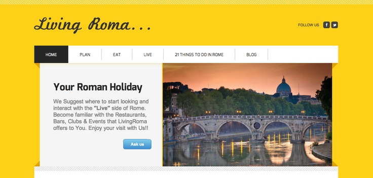 The New Look of    http://www.livingroma.com/