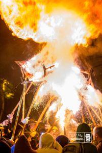 Correfoc Festa Major de les Corts 2015 by Alex Edo