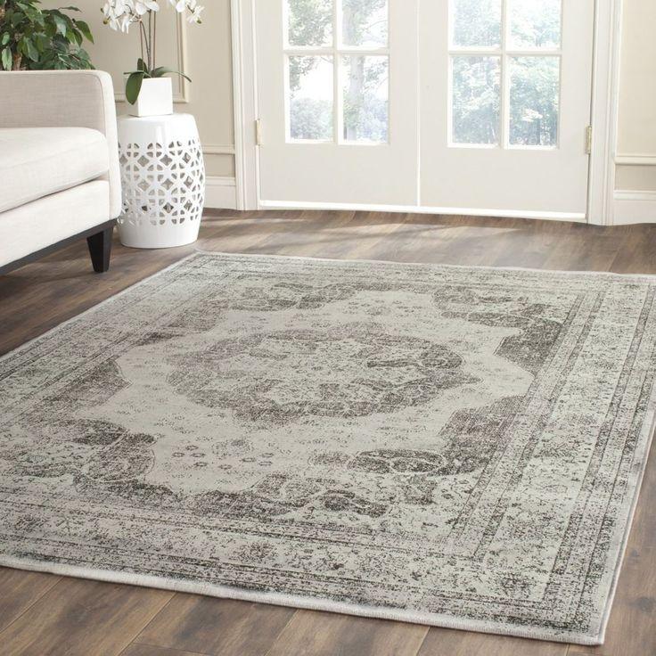 Safavieh Vintage Grey/ Multi Viscose Rug (10' x 14') | Overstock.com Shopping - Great Deals on Safavieh 7x9 - 10x14 Rugs
