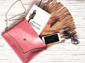 Tutorial fai da te: Come fare una borsa in pelle con frange via DaWanda.com