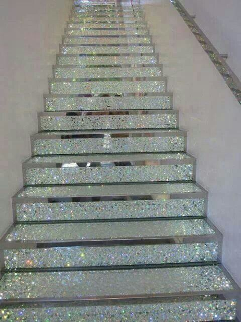 Best Fancy Stairs Order My Steps Pinterest Glitter Stairs 400 x 300