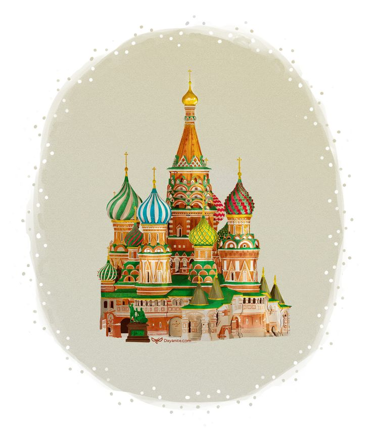 St Basil's Cathedral I started with a photo reference and slowly built it color by color. I thought I'd give the painting a watercolor look and texture for some realism. The original size is huge, so this effect is lost when viewed on a screen.