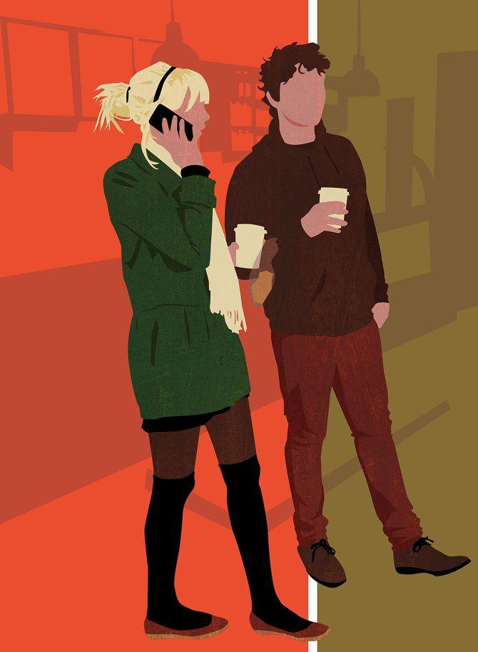 Coffee Shop illustration by Amy DeVoogd