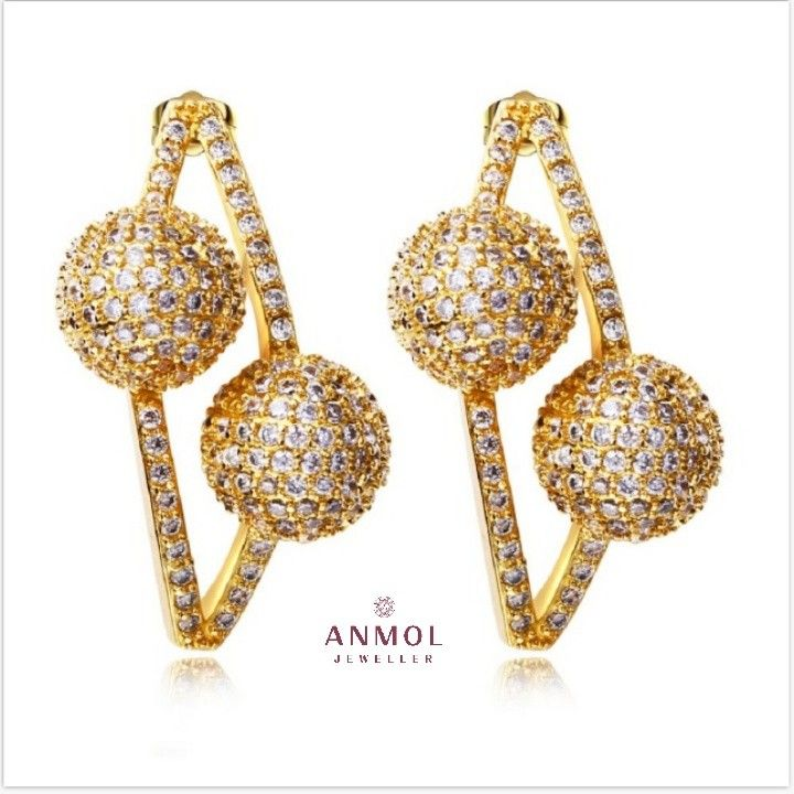 The Designer Earring Set 👑  PRODUCT LINK :  👇  http://anmoljeweller.com/product.php?pid=333  SHOP NOW :  Anmoljeweller.com    👈  #anmol_ jeweller #gold #diamonds #signity #bridetobe #blingbling #jewel #jewelry #latest #design #fashion #jewelryblogger #jotd #lavish #stylish #royal #cute #art #beautiful #engagementrings #ladiesjewelry #designerring #jewelrydesign #fashionjewelry #ringband #exclusive #finejewelry #whitegold #jewelrygram #forever