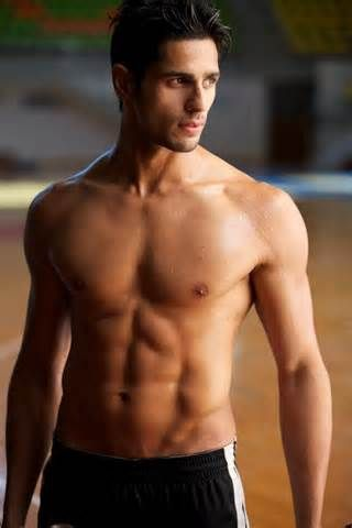 "Indian actor SIDHARTH MALHOTRA. He can't go wrong when ""HOT"" is in his name."