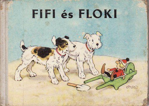 Fifi és Floki mesekönyv